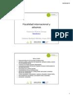 Fiscalidad Internacional Presentacionfranciscoalvarez2015