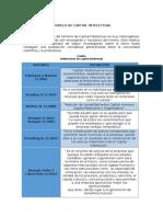 Aplicación modelo del capital Intelectual IAM