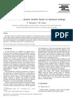 Espuma Flotacion Modelos Cineticos Basados en Analogía Quimica