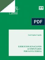 Ejercicios Ignacianos Acompanados Por Santa Teresa Luis Espina Cepeda