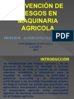 Prevencion en Manejo de Maquinaria Agricola p