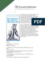 Peristiany  Dote y matrimonio en los  países mediterraneos