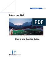 AAnalyst 200 Users and Service Guide