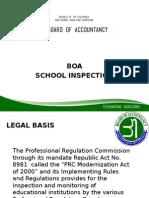 BOA School Insp Pp
