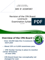 BOA Revision in CPA Exam Subjects