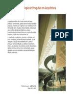 Metodologia de pesquisa em arquitetura