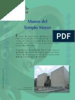Explicación del templo mayor