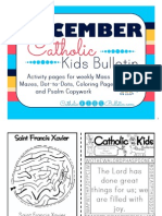 December 2015 Catholic Kids Bulletin