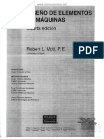 Diseño de Elementos de Máquinas - Mott