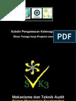 Prosedur Audit SMK3