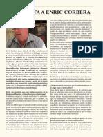 Entrevista a Enric Corbera