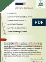 Prostaglandinas Expo de Bioquimica