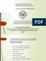 Types of Qualitative Research - Submit