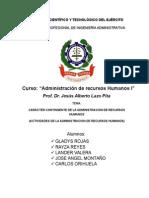CARÁCTER CONTINGENTE DE LA ADMINISTRACION DE RECURSOS      HUMANOS.docx