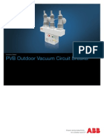 PVB Outdoor Vacuum Circuit Breaker (Catalogue)