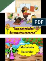 Materiales Naturales y Artificiales