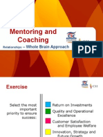 Mentoring and Coaching Relationships HO