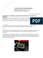 Conceptos de BIOS CMOS POST SETUP Malware Firewall RAM Disco Duro