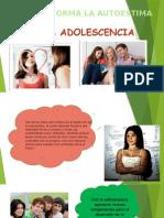 autoestima en adolescencia