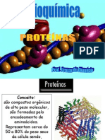 As Proteínas - Bioestatítica