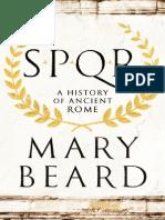 Mary Beard-SPQR a History of Ancient Rome
