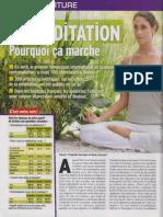 Ca m´intéresse La méditation