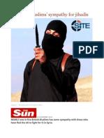 1 in 5 Brit Muslims' Sympathy for Jihadis