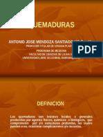 QUEMADURAS- CX PLASTICA
