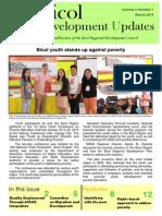 Bicol Development Updates First Quarter 2015
