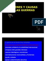 I.-2.-ORÍGENES Y CAUSAS DE LAS GUERRAS