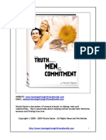 The Truth About Men and Commitment eBook