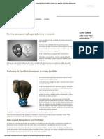 Realocação Do Portfólio_ Ganhe Com as Altas e Quedas Do Mercado
