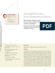 Neutrophil Function From Mechanism to Disease