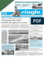 Edicion Impresa El Siglo 25-11-15