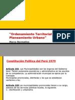 Plan Urbano  Marco normativo arequipa