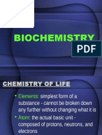 Lesson 1 Introduction to BIOCHEMISTRY for Psych Majors