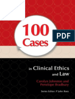 100 Cases in Clinical Ethics and Law