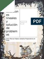 Nájera Saldaña Jesús M11S3_AI6_Ecuacioneslinealesysolución de Problemas