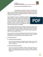 Diseño de Un Plan Integral Del Marketing Internacional