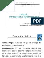 Unidad i Farmacología Básica