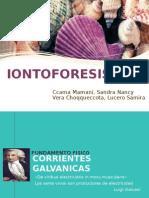 Iontoforesis