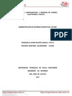 Servicio Correo Electronico Postfix