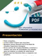 Actividad 1 - Importancia de La Higiene Bucal