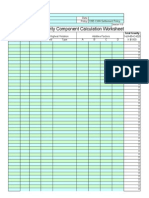 CWA Penalty Policy Worksheet