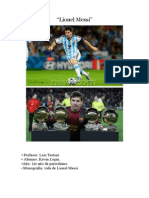 Monografia Messi