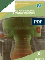 Machine Electric Dan Motor Control