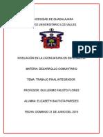 Desarrollo Comunitario Trabajo Final Integrador_Bautista_Paredes