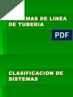 sistema de lina en tuberias