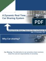Car sharing presentation