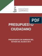 Presupuesto Ciudadano 2014 Jal